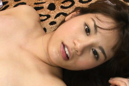 Ai nikaidou. Ai Nikaidou Asian house keeper with nude cans gets cumshot on face