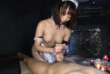 Misuzu kawana. Misuzu Kawana Asian with nasty nude tits strokes and licks dong