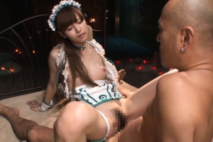Ryou hashimoto. Ryou Hashimoto Asian with hot tits sticks woody